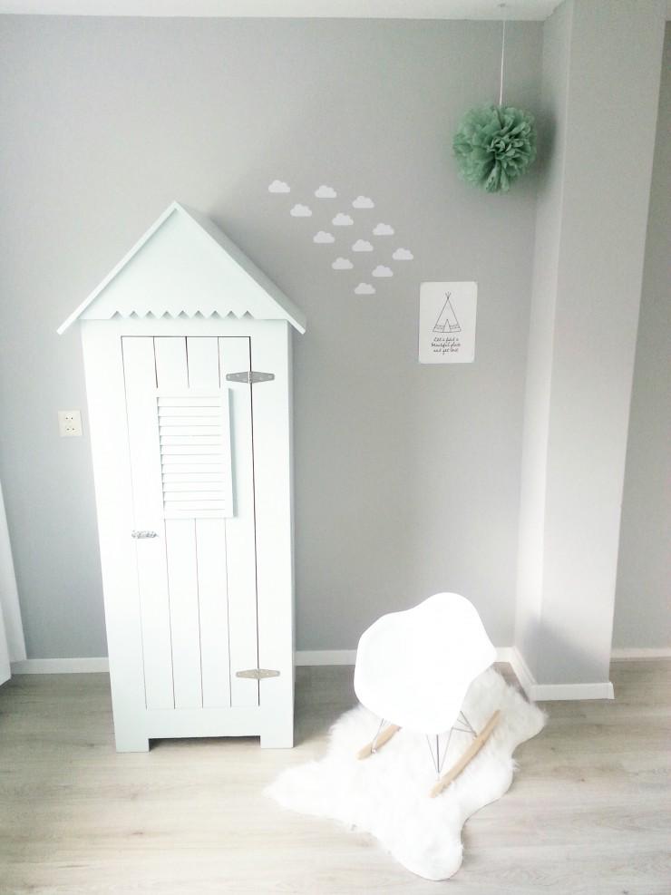 Een kijkje in de babykamer van finn mama is thuis - Zin babykamer ...