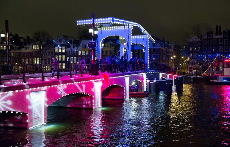Amsterdamse Lights Festival kerstvakantie-uitjes