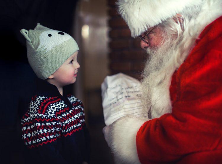 kerstman bestaat volgens peuter kerst 2017