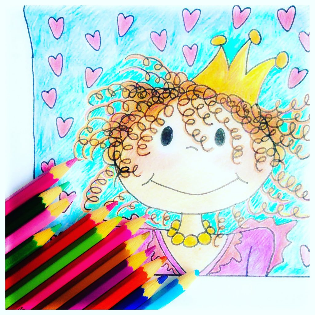 Lieverdeliefste kindertekening illustraties
