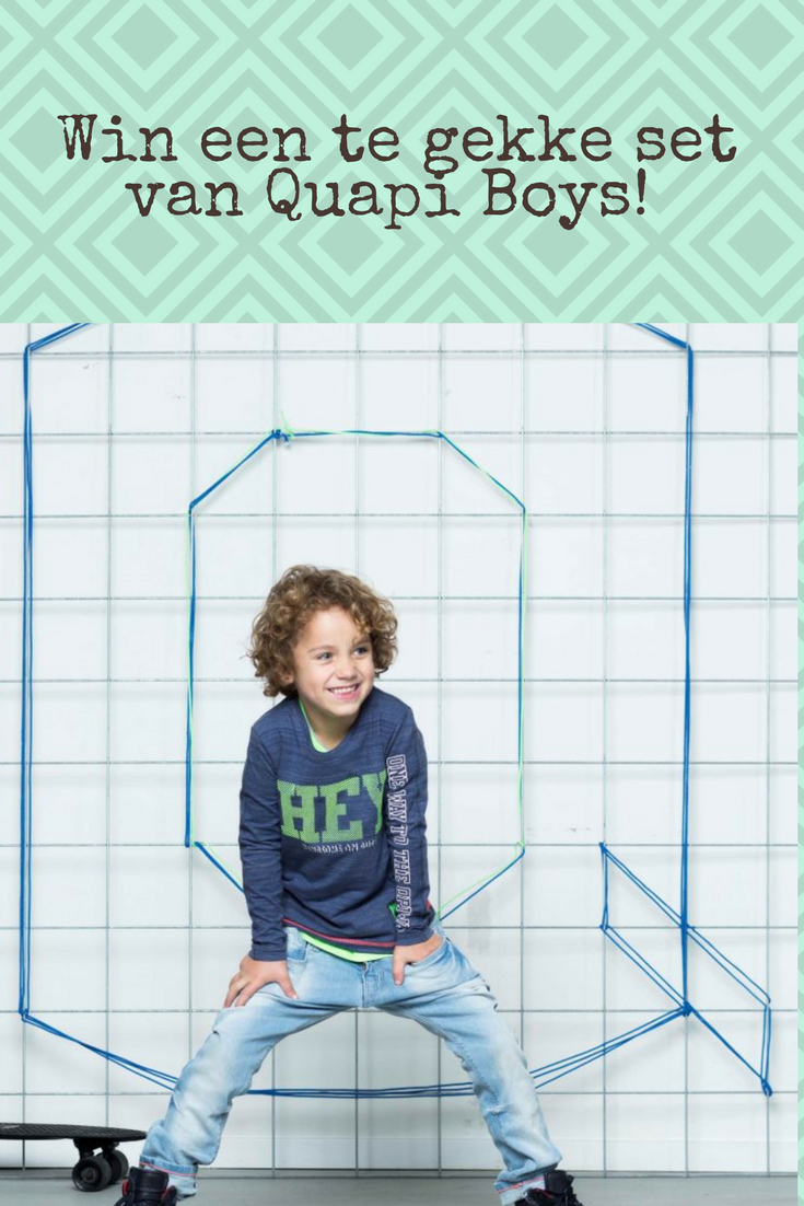 b6fbafbd9e2a61 Quapi Kidswear zomer 2018  for cool dudes only! (winactie gesloten ...