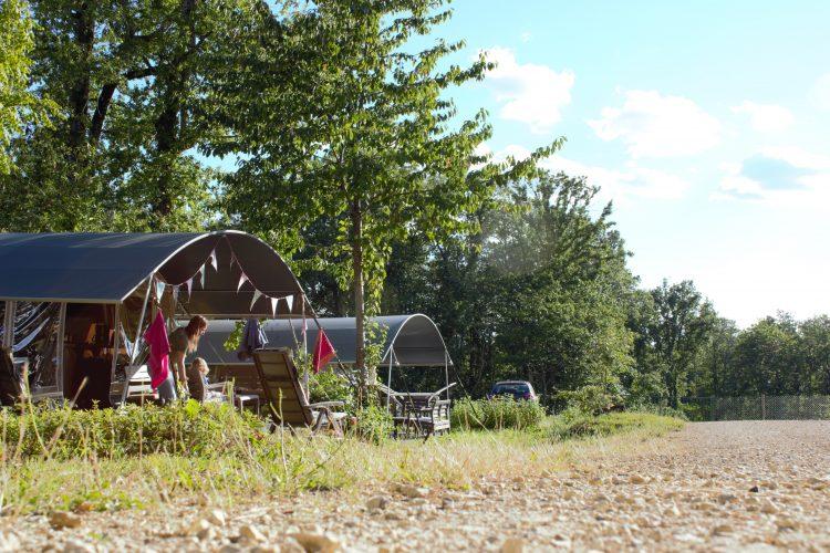 Glamping Dordogne kindvriendelijke camping Le Clou