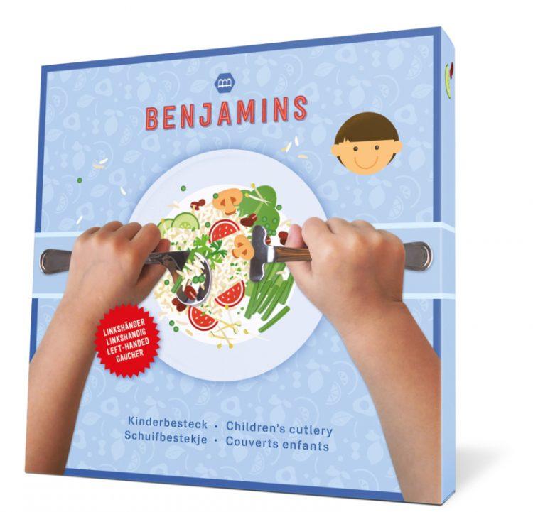 Benjamins Products schuifbestekje dreumes peuter kraamcadeau